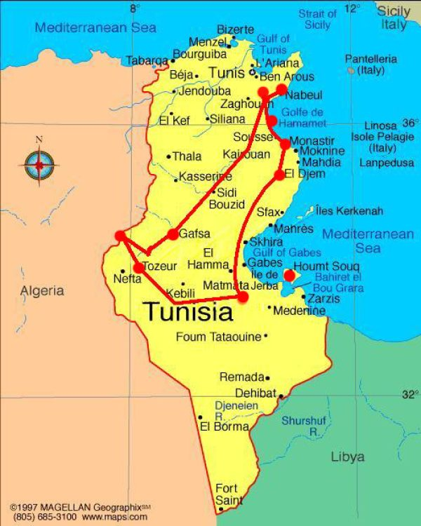 Tour TUNISIA