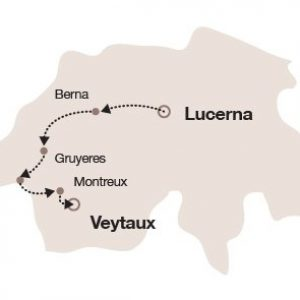 mappa del tour 4 giorni